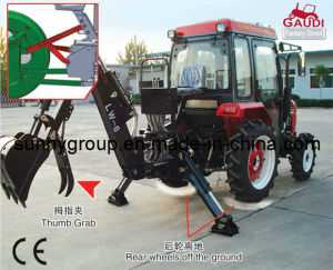 CE Approved Lw Sereise Backhoe (with/without hydraulic side shift) pictures & photos