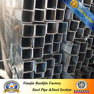 Black Square Steel Pipes for Window and Door pictures & photos