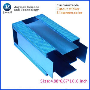 Blue Color Aluminum Die Casting Box pictures & photos