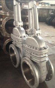 Wcb Flanged Gate Valve 150# (Z41H-150#) pictures & photos