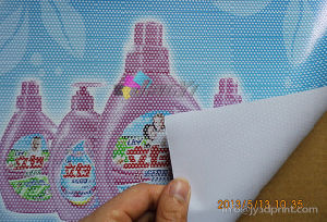 One Way Vision Self-Adhesive Vinly Advertising Window/Glass Sticker pictures & photos