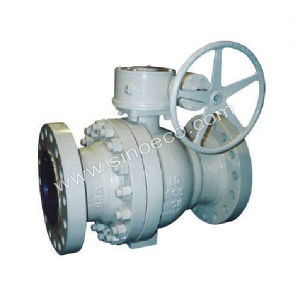 Cast Steel Wcb Metal Ball Valve pictures & photos