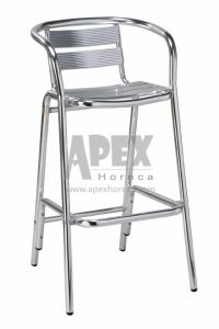 Aluminum Bar Chair Cafe Furniture Outdoor Bar Chair pictures & photos