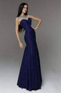 Charming A Line One Shoulder Leg out Floor Length Sexy Mother of The Bride Dresses Free Photos (HS088) pictures & photos