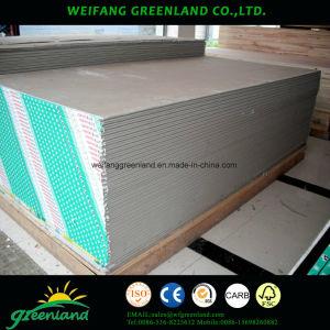 waterproof Gypsum Board/Moisure Resistant Gypsum Board/Standard Plaster Board pictures & photos