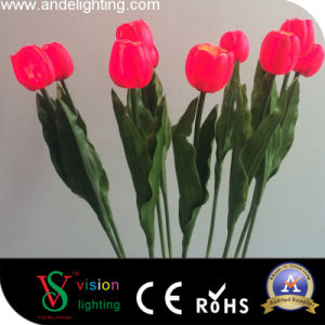 Garden Decoration PU Material LED Tulip Lights pictures & photos