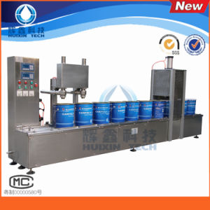 Automatic 2-Head 20L Painting/Coating Filling Machine pictures & photos