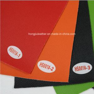 PVC Faux Leather Fabric (HS001#) pictures & photos