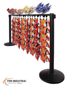 Super Market Sales Promotion Merchandizing Beam for Queue Barrier pictures & photos
