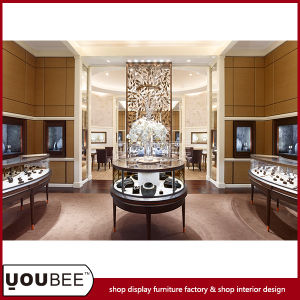 New Arrival Jewelry Display Showcase for Luxury Jewellery Store Design pictures & photos
