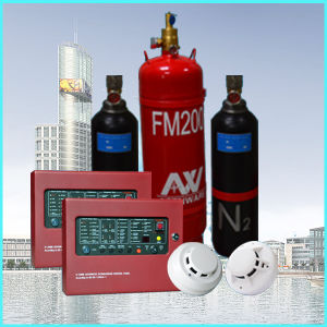 Fire Alarm and FM-200 Fire Protection Systems pictures & photos