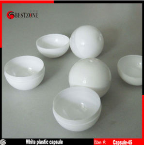 45mm White Empty Plastic Ball pictures & photos