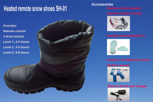 Savior Longer Heating Time, Remote Control, Fantrol, Fashionashion Design Heated S Design Heated Snow Boot/ Snow Shoe Shion Design Heated Snow Boot pictures & photos