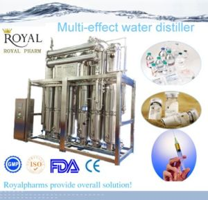 Multi-Effect Distiller (Distilled Water Machine) pictures & photos