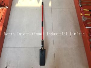 Fibweglass Handle Trenching Shovel pictures & photos