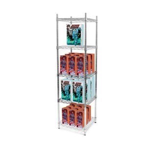 Adjustable Metal Crafts Display Shelves with NSF Approval pictures & photos