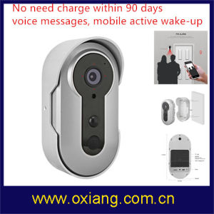 Security Product Battery Video Door Phone Can Standy in 90 Days pictures & photos