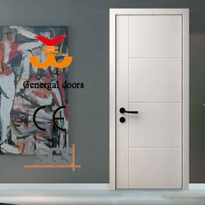 Ce Painted White Wooden Doors pictures & photos
