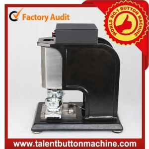 High Speed Interchangeable Safe Automatic - Electric Button Making Machine (SDEP-1) pictures & photos