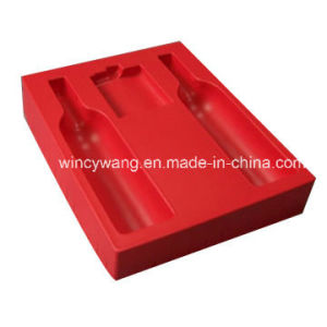 Red Flocking Plastic Products pictures & photos