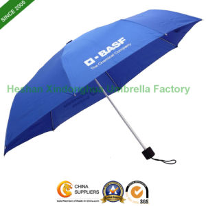 Aluminium Three Fold Umbrella for Promotion (FU-3821A) pictures & photos