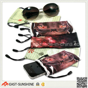 Digital Printing Bags for Glasses Eyewear Phone pictures & photos