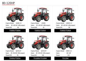 Taishan Wheel Tractor Mountain-Tai Ts850/Ts854 pictures & photos