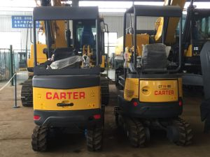 CT18-9ds (cabin&retractable chassis) Backhoe Mini Digger pictures & photos
