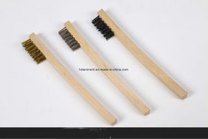 Wooden Handle Steel Wire Brush for Cleaning pictures & photos