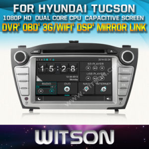 Witson Car Radio with GPS for Hyundai Tucson (W2-D8255Y) pictures & photos