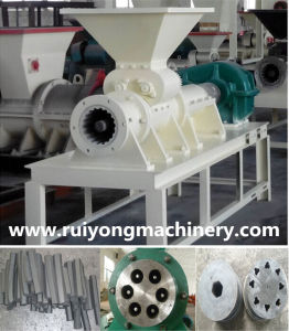 High Moulding Rate Charcoal Extrusion Machine pictures & photos