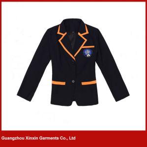 Custom Casual School Blazer Uniforms for Primary School Student (U15) pictures & photos