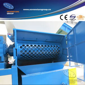 Plastic Barrel Crusher Machine for Making The Flakes pictures & photos