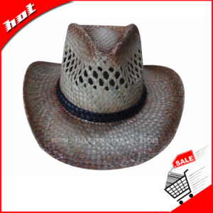 Seagrass Straw Hat Cowboy Hat Unisex Hat pictures & photos