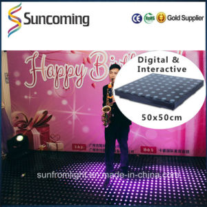 Slim Rechangeable LED Interactive Wholesale Portable Dance Floor pictures & photos