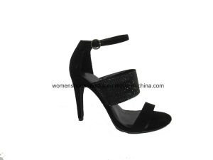 New Fashion Women High Heel Lady Sandals with Peep Toe pictures & photos