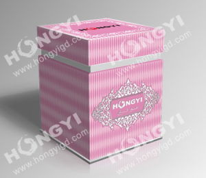 Pink Embossed Art Paper Perfume Box for Gift Packaging (HYP013) pictures & photos
