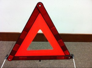 Road Emergency Safety Kits Warning Triangle