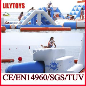 Exciting! Newest Air Sealed Climbing Water Trampoline Floating Inflatable Water Park Equipment for Sale (J-water park-03) pictures & photos