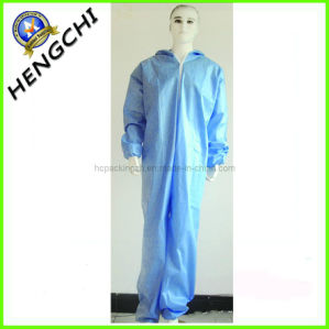 Nonwoven Siamesed Coverall (HC0329) pictures & photos