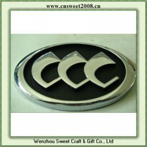 Car Badge Sticker Adhesive Glue on The Back (S1M086) pictures & photos