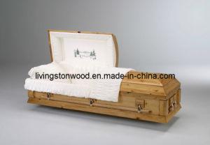 American Style Solid Pine Casket (Uinta)