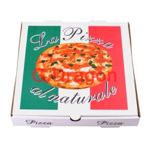 Locking Corners Pizza Box for Stability and Durability (PIZZ-008) pictures & photos