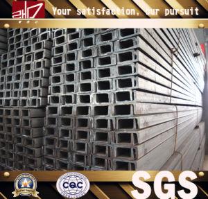 Hot Rolled Upn80 Steel Channel pictures & photos
