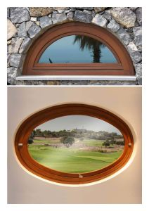 Modern Design Window for Your House, Circular/Round or Any Customized Shape Wood Specialty Glass Window pictures & photos