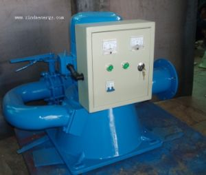 Pelton Double Nozzle Hydro Turbine Generator pictures & photos