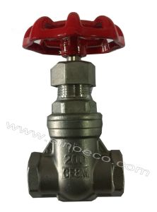 Stainless Steel Thread Female Gate Valve pictures & photos