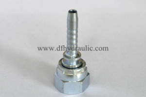 Swaged Metric Flat Seal Fittings pictures & photos