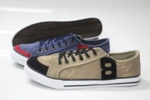 Men Fashion Style Canvas Footwear (SNC-230002) pictures & photos