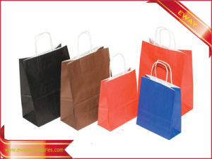 Wholesale Paper Shopping Bag Kraft Paper Bag pictures & photos